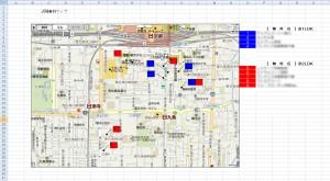 近隣事例マップ